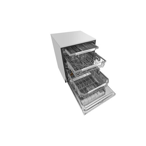 Smart Dishwasher with QuadWash™ and Adjustable 3rd Rack, 44dB