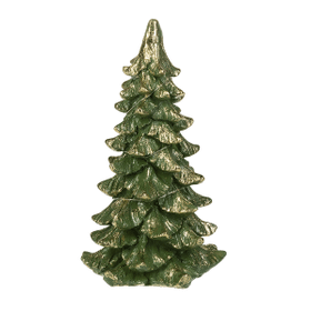 Light Up Christmas Tree Figurine - Sm.