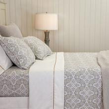 Lennox Quilt & Shams, PEWTER, KING