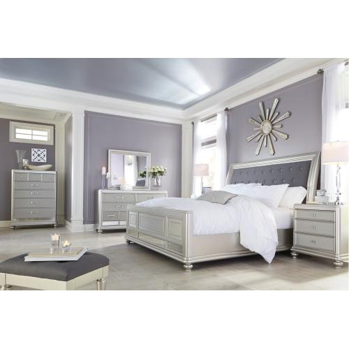 Coralayne California King Sleigh Bed