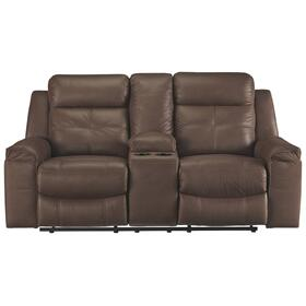 See Details - Jesolo Reclining Loveseat With Console