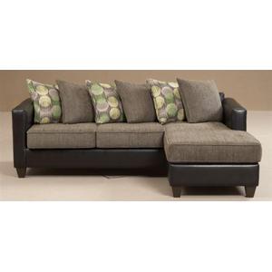 San Marino Black / Radar Graphite / Spherical Hemlock Sofa