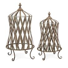 Westine Mirror Base Cloches - Set of 2