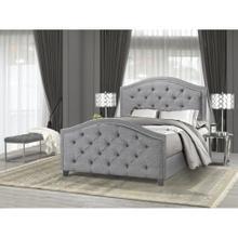 Zea King Bed Frame Grey