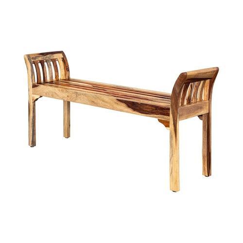 Porter International Designs - Sheesham Accents Bench, ART-2680