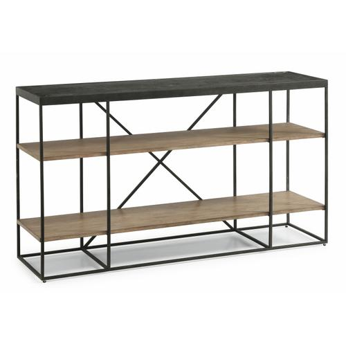 Flexsteel - Carmen Sofa Table with Shelving