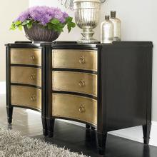West End Drawer Chest w/Shaped Front