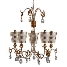 View Product - Tivoli Silver Chandelier