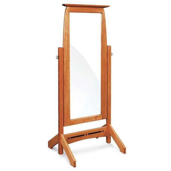 See Details - Aspen Cheval Mirror with Inlay