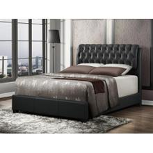 See Details - Tufted Queen Size Bed