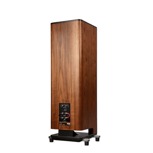 Polk Legend Series Premium Floorstanding Tower Speaker with Patented SDA-PRO Technology in L800 R Brown Walnut