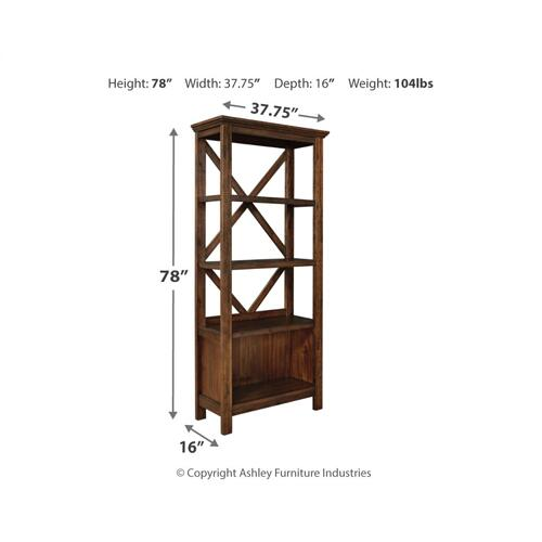 "Baldridge 75"" Bookcase"