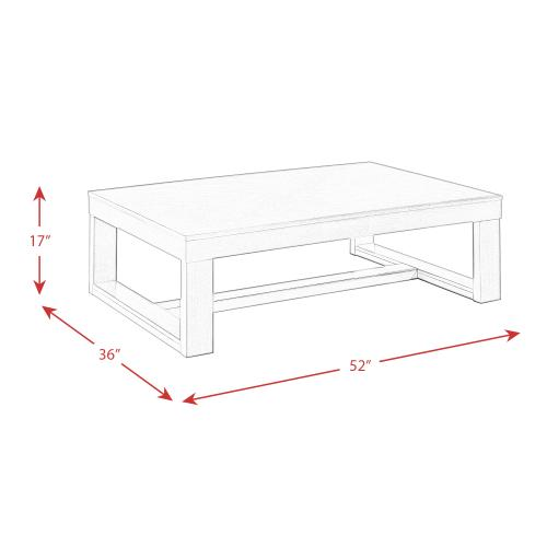Gallery - Hardy Rectangle Coffee Table