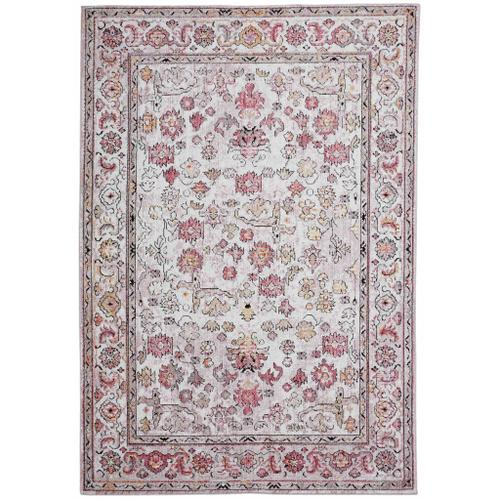 Feizy - ARMANT 3945F IN PINK-IVORY