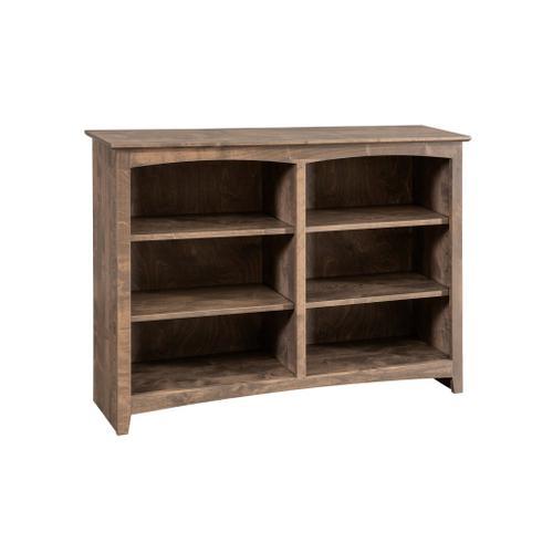 Archbold Furniture - Alder Bookcase 48 x 36