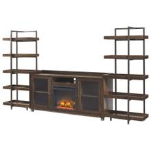 Starmore 3-piece Entertainment Center With Electric Fireplace