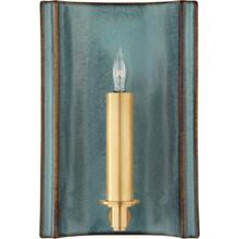 Visual Comfort CS2609OSB Christopher Spitzmiller Leeds 1 Light 7 inch Oslo Blue Wall Sconce Wall Light, Small Rectangle