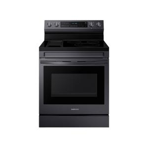 Samsung Appliances6.3 cu. ft. Smart Freestanding Electric Range with No-Preheat Air Fry, Convection+ & Griddle in Black Stainless Steel