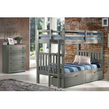 Cambridge  Bunkbed With Short Ladder