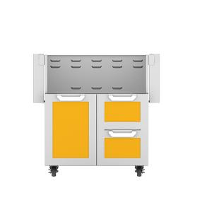 """30"""" Hestan Outdoor Tower Cart with Door/Drawer Combo - GCR Series - Sol"""