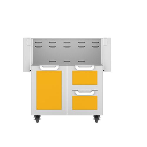 "Product Image - 30"" Hestan Outdoor Tower Cart with Door/Drawer Combo - GCR Series - Sol"