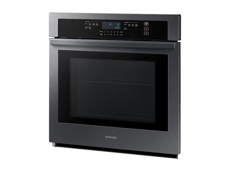 """30"""" Smart Single Wall Oven in Black Stainless Steel Photo #5"""