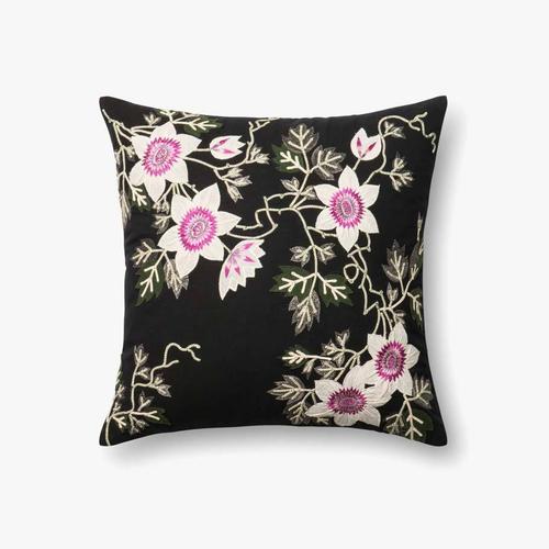 P0295 Black / Ivory Pillow