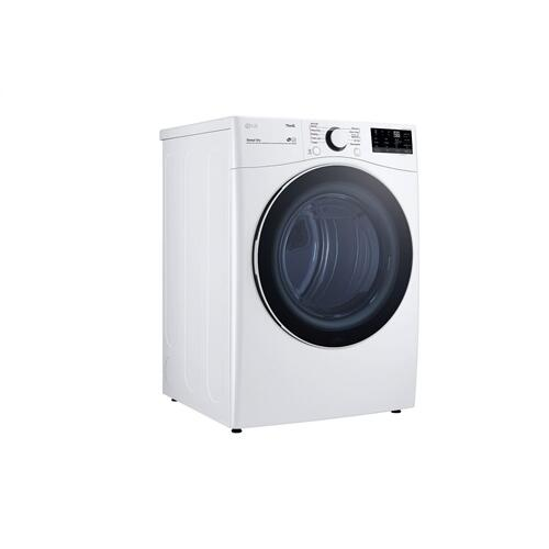 7.4 cu. ft. Ultra Large Capacity Smart wi-fi Enabled Front Load Gas Dryer with Built-In Intelligence