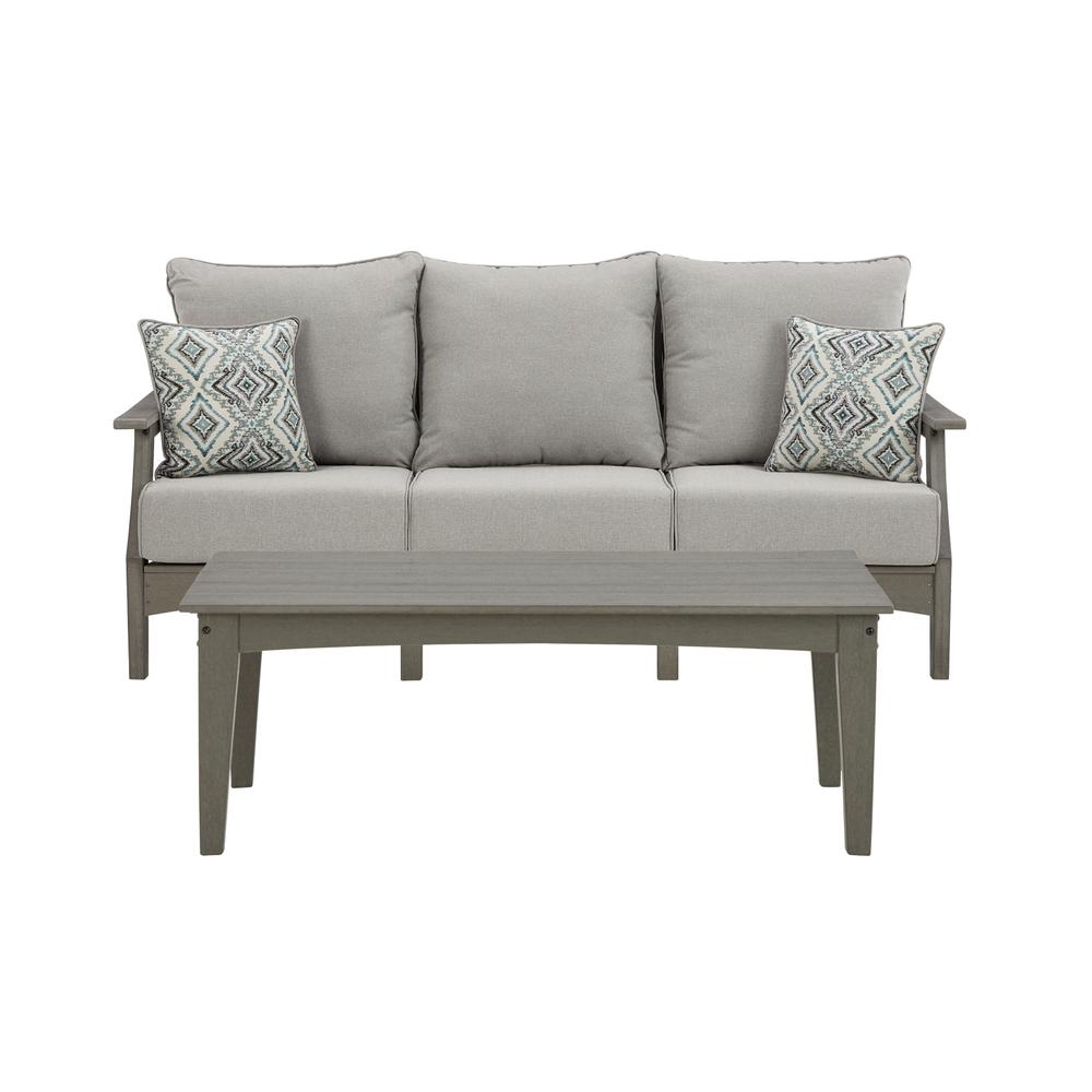 Outdoor Sofa With Coffee Table