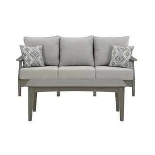 See Details - Outdoor Sofa With Coffee Table