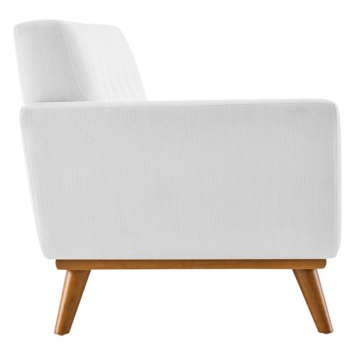 Modway - Engage Left-Arm Upholstered Fabric Loveseat in White