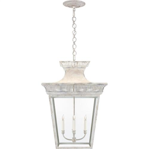 Visual Comfort CHC5052OW-CG E. F. Chapman Elsinore 4 Light 22 inch Old White Hanging Lantern Ceiling Light, Extra Large