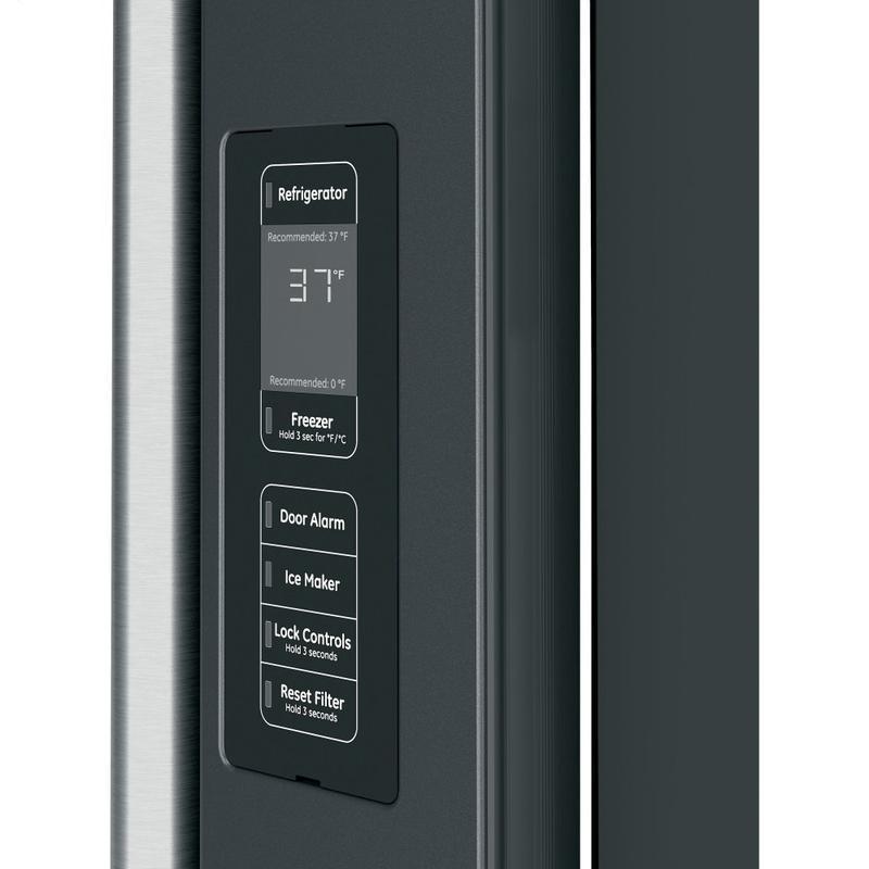 Café ENERGY STAR ® 23.1 Cu. Ft. Smart Counter-Depth French-Door Refrigerator