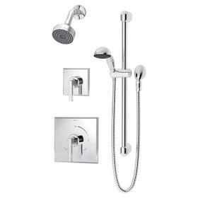 Symmons Duro® Shower/Hand Shower System - Polished Chrome