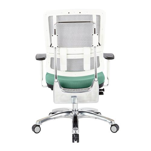 Office Star - Breathable White Vertical Mesh Chair