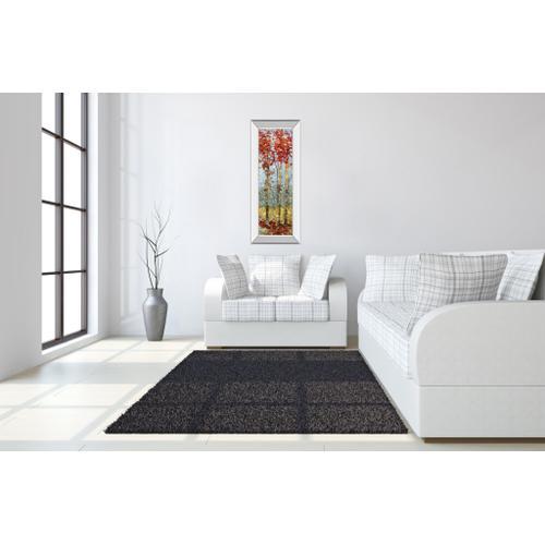 """Crimson Woods Il"" By Carmen Dolce Mirror Framed Print Wall Art"