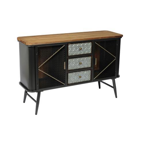 Emerald Home Ac500 Laurell Hill Buffet, Patina Gray