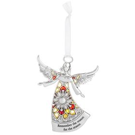 Angel Ornament - Remember the reason for the season