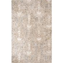 View Product - Best Seller Carrera Damask Rug, STONE, 1X1