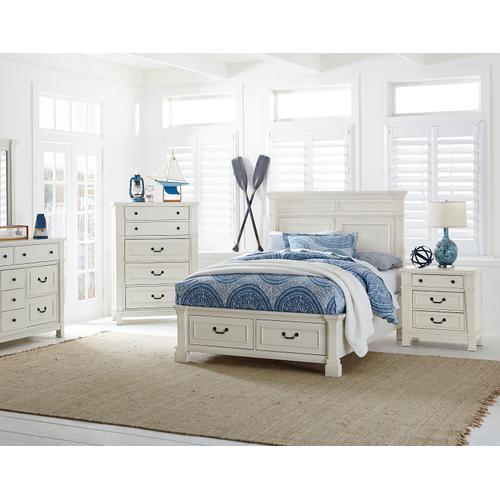 Chesapeake Bay Twin Storage Bed