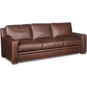 Premier Collection - Hanley Leather Sofa
