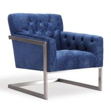 Moya Navy Velvet Chair