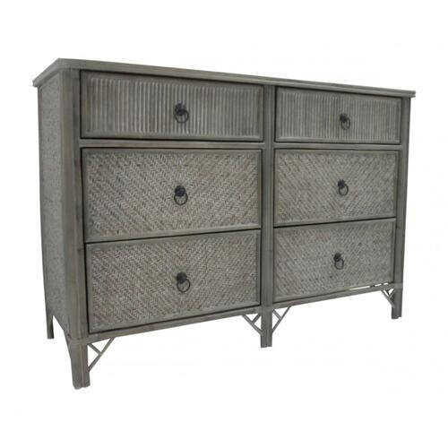 Toronto Six Drawer Dresser