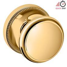 See Details - Lifetime Polished Brass 5069 Estate Knob with 5076 Rose