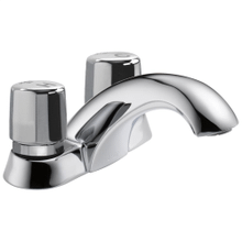 See Details - Chrome Two Handle Metering Faucet