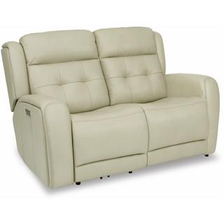 See Details - Grant Power Reclining Loveseat with Power Headrests