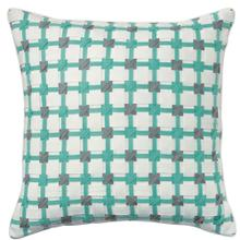 See Details - Retired Starboard Pillow, AQUA, 22X22
