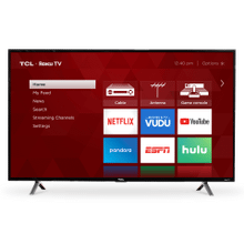 """See Details - TCL 49"""" Class 3-Series FHD LED Roku Smart TV - 49S305"""