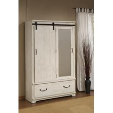ARMOIRE - Antique White