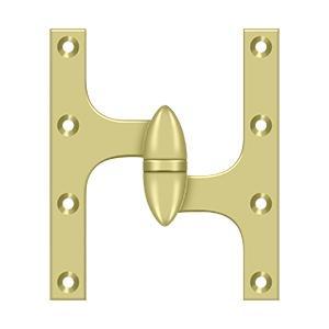 "Deltana - 6"" x 5"" Hinge - Polished Brass"